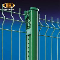 China Top Quality Peach Post 3D Curved Welded Wire Mesh Fence Manufactures