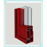 Lightweight Window Aluminum Profile Corrosion Resistance Red Color Smooth Surface Manufactures