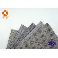 CE Approval Non Slip Underlayment Felts PVC Coated 4m Width With Black / White Dots Manufactures