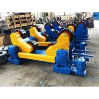 Self Alignment Pipe Rotator for Tack Welding 20Ton Pipes or Tanks with 3m Diameter Manufactures