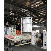 Vertical Waste Oil Burner Fired Hot Water Boiler High Performance Easy Installation Manufactures