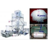 LDPE / HDPE / LLDPE /PA/ PP LC-X3-FM1350 three layer co-extrusion PE film blowing machine Manufactures