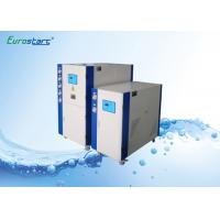 Lower Speed Water Cooled Water Chiller Scroll Commercial Chiller Units 145KW