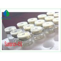 Finished Liquid Oil Base Testosterone Sustanon 450 Steroids Testosterone Blend Muscle Growth Manufactures