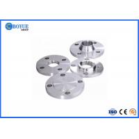 Steel Flange 3inch Class 150 A182 F53 BL Flange Connection With Pipe Manufactures