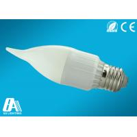 3 W E27 LED Candle Bulbs Warm White ABS Light Lifespan 50000 Hour Manufactures