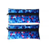 Sublimation Printed Neoprene Pencil Case Custom For Kids Girls Teenagers Manufactures