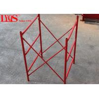 Construction Support H Frame Scaffolding 4 Inch Width For Heavy Duty Shoring