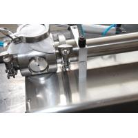 Manual Pneumatic Cream Paste Filler Cosmetics Equipment / Packaging Machinery Manufactures