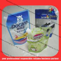 lovely detergent spout pouch packaging with hang hole Manufactures