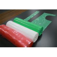 LDPE / HDPE Kitchen Plastic Aprons On Roll , Disposable Adult Aprons Anti - Oil Manufactures