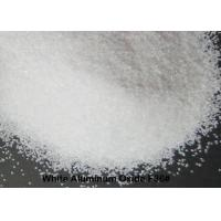 China 99% AL2O3Fused Aluminum Oxide , White Corundum F12 - F220 High Purity Alumina For Bonded Abrasives on sale