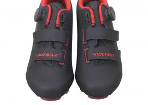 Red Black 28cm MTB Cycling Shoes For Racing And Riding Manufactures