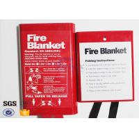Flame Retardant Fabric Fiberglass Fire Blanket for Thermal Heat Protection Manufactures