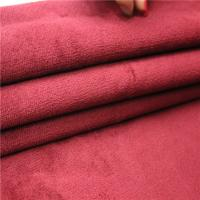 China Anti Pill Ultra Soft Fleece Fabric For Car Seat Customized Weight on sale