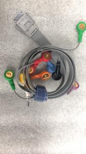 Compatible BI 10ld holter ecg cable Manufactures