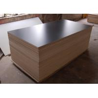 white glossy HPL plywood 1220*2440mm Manufactures