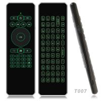 Wireless Air Mouse Backlight Keyboard Remote Control For Smart Android TV Mini PC Manufactures