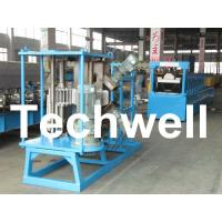 Buy cheap 17 Forming Stations Stationary K Span Roll Forming Machine With PLC from wholesalers