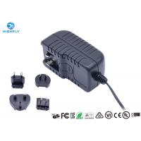 Quality 18V 1A Interchangeable Plug Power Adapter Power Supply With UL CE GS Certificati for sale
