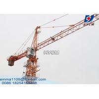 Cheap QTZ40 Hydraulic Telescopic Hammerhead Tower Crane Specification TC4208 for sale