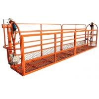 400 kgs Rated Load Pedal Rope Suspended Platform with Hoist 2 - 3 m/min