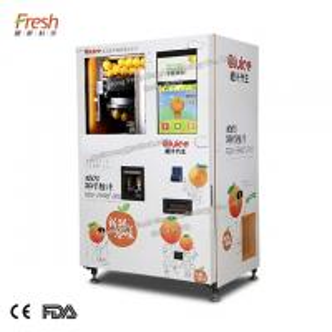 China 220V white color orange juice vending machine VA1 for shopping mall on sale