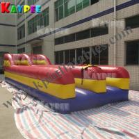 China Bungee run,,double lane inflatable bungee runway,inflatable active sport game KSP063 on sale