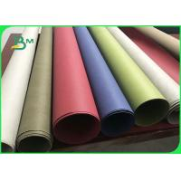 Wear - Resistant Natural Pulp Washable Kraft Paper Fabric For Carry Bags Manufactures