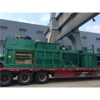 Cheap Straw Cardboard Horizontal Baling Machine Semi - Automatic With Manual Belting for sale
