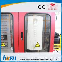 Jwell Plastic Recycling PE/PE WPC PVC SPC/PVC Decoration Floor/Board/Wallboard Portable Extruder Making Machine Manufactures