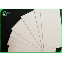 Natural White Water Absorbent Uncoated Coaster Paperboard Sheets 0.8mm 1mm Manufactures