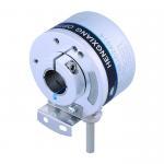 K50 Optical Position Encoder , Hollow Shaft Optical Encoder 14mm Line Driver Output 5V DC 5000 Resolution Manufactures