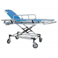 Manual Patient Transfer Trolley , Ambulance Emergency Stretcher Trolley Manufactures