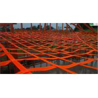Polyester Custom Cargo Nets Fall Protection Arrest Net Width 50mm For Commercial Manufactures