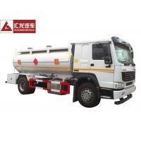 Rigid  Gas Delivery Truck , 4x2 Petrol Tanker Truck Rotproof Hose Turbo Charging Manufactures