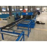 Steel Channel Ladder Cable Tray Making Cold Roll Forming Machine 10 - 12 m / min Manufactures