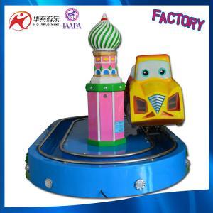 Mini kids outdoor track amusement equipment kiddy indoor amusemnet train track rides Manufactures
