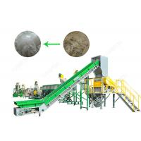 SUS304 Polythene Bags Recycling Machines 1000 Kg / H With Oil Washing Hot Washer Manufactures