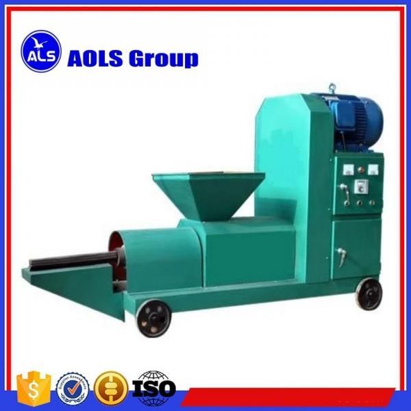 Quality biomass Wood sawdust briquette charcoal making machine sawdust screw extruder briquette press for sale