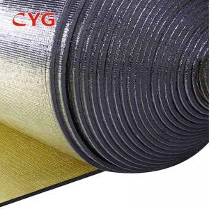 Aluminium Foil Pe Air Conditioner Pipe Insulation Foam Ldpe Material Custom Length Manufactures