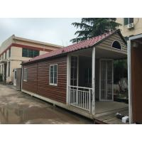 China Fabrication Steel Structure Villa , Q235B / Q345B Painting Residential Prefab Steel House on sale