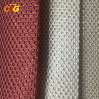 China 100% Polyester Home Textile Products Sandwish Mesh Fabric 150 cm Width on sale