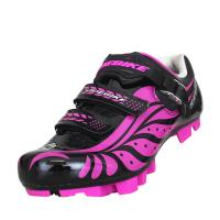Adjustable Girls Ladies Cycle Touring Shoes  , Touring Bike Shoes OEM / ODM Accept Manufactures