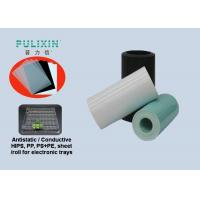 Heat Resistant 1.6mm Conductive Plastic Sheet , High Impact Polystyrene Sheet Manufactures