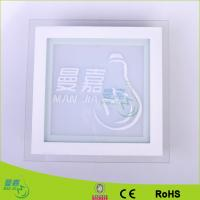 Hotel 12 W 600lm Led Ceiling Lights , W160 ×L160 ×H38mm Led Manufactures