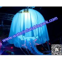 Customise Inflatable Jellyfish Decoration , Inflatable Stage Decoration with Lighting Manufactures