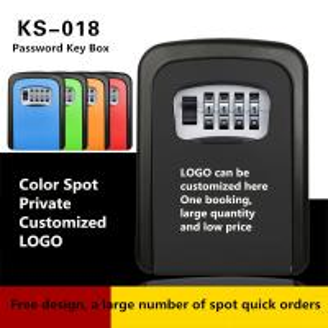 Wall Mounted Combination Key Lock Box Non - Intelligent Cat Eye Key Safe Box Manufactures
