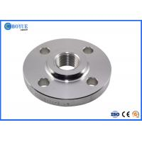Forged Inconel 600 601 625 718 825 Forged Threaded Pipe Flange RF FF RTJ ASME B16.5 Manufactures