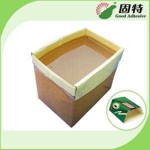 Cheap Yellow Hot Melt Pressure Sensitive Adhesive , Adhesive Hot Melt For Pantry Pest Trap for sale